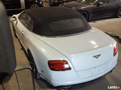 używany Bentley Continental GTC V8 4.0 benz. 500KM autom. AWD cabrio 2014