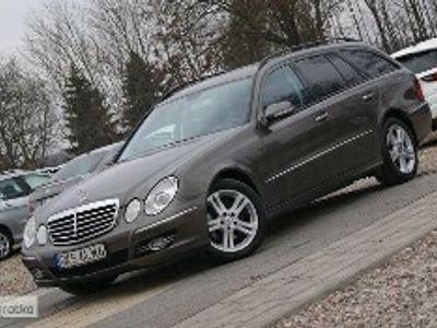 używany Mercedes 280 Klasa E W211280CDI 190KM 4 Matic Xenon Pół Skóra Navi ZAREJESTROWANY