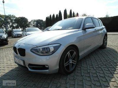 używany BMW 116 SERIA 11,6 benzyna 136KM automat nawigacja zarejestrowany sport line
