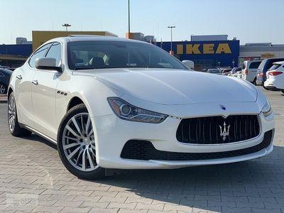używany Maserati Ghibli 3dm 352KM 2016r. 40 400km
