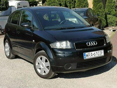 używany Audi A2 2003r, 1.4B, Czarne, Świeżo Sprowadzone, Wszystko Sprawne, 8Z (1999-2005)