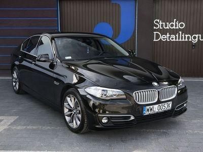 second-hand BMW 520 D F10 2014 Head up, powłoka ceramiczna harman/kardon, luxury, bezwypadkowy