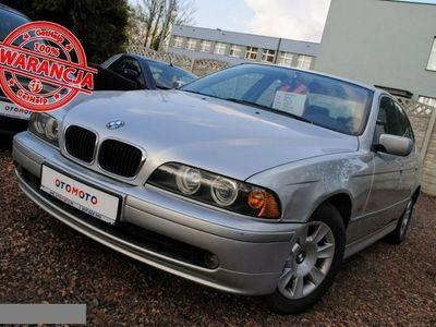używany BMW 520 2dm 136KM 2001r. 269 000km