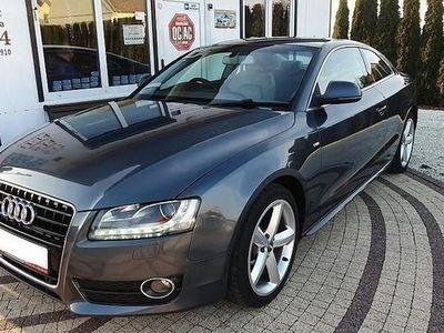 używany Audi A5 I (8T) 3.0TDI Quattro zarejestrowana nawigacja skóra xenony ledy