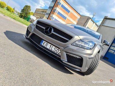 używany Mercedes CLS350 V6 Szary Mat.