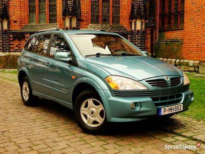 używany Ssangyong Kyron 4x4 Diesel 2.0 140PS Klima Elektryka