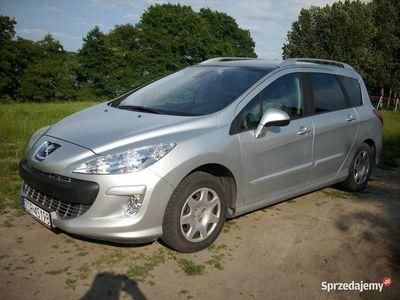 używany Peugeot 308 SW 1,6 VTi, GAZ, Klima, Panorama, Automat, 2009r