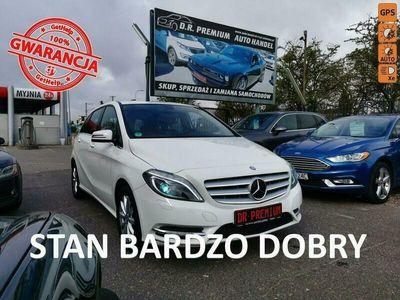 używany Mercedes B180 1.6 Benzyna 122 KM, Klima, Xenon, LED, Nawigacja, Grzane Fotele, ALU W246 (2011-)