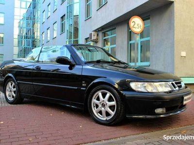 używany Saab 9-3 Cabriolet 2.0LPT Deauville nr 83, 222KM, BBS Kamera cofania Skóra Automat I (1998-2002)