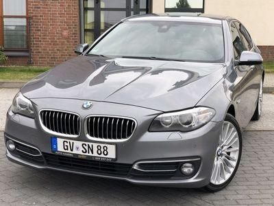 używany BMW 525 2dm3 218KM 2015r. 185 690km Luxury xDrive 218KM Xenon Led Navi Webasto HeadUp Kamera Skóra