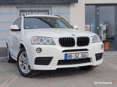 używany BMW X3 2.0d 184Ps XDRIVE 4x4 Led Navi Hak M - Pakiet 4x4
