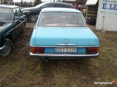 używany Mercedes W115 240D 3.0 dwie sztuki