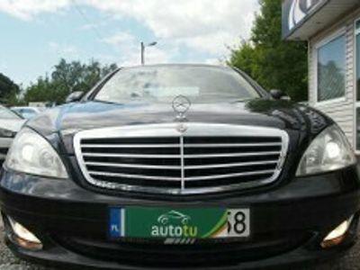 używany Mercedes S320 Klasa S W221CDi V6 ! 235 KM PEŁNA OPCJA ! EW.ZAMIENIĘ.