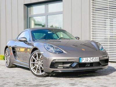 używany Porsche Cayman 2dm 300KM 2017r. 16 000km
