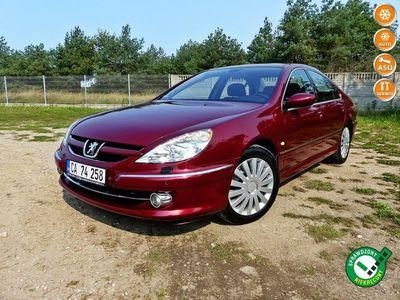 używany Peugeot 607 2.2 16V*Climatronic*Alu*Welur*Drewno*Pełna Elektryka*Śliczny*ZOBACZ!!!