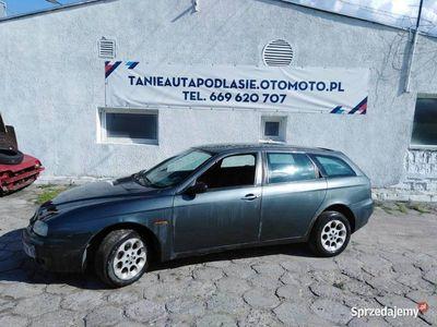 używany Alfa Romeo 156 z bdb silnikiem 1.9 JTD TANIO