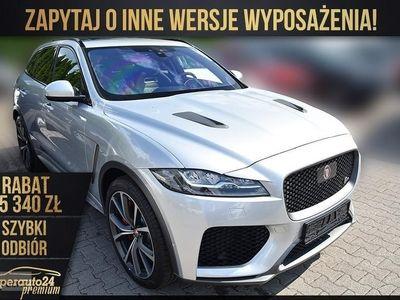 używany Jaguar F-Pace SVR 5.0 V8 S/C AWD(550KM) SVR + DRIVE + HUD Największy wybór aut PRE