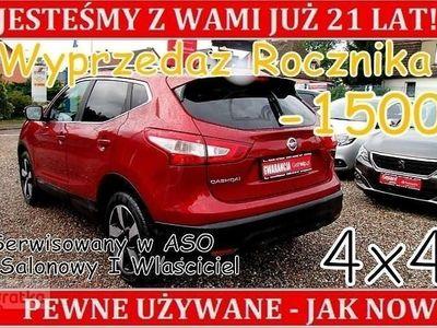 używany Nissan Qashqai II 4x4 Salon Polska Bezwypadkowy I Właściciel