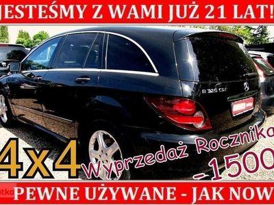 używany Mercedes 320 Klasa R W251Napęd 4x4 Nowe OPONY