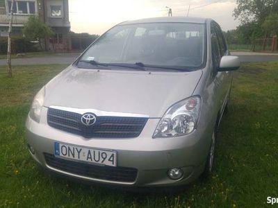 używany Toyota Corolla Verso D4d 90km, Okazja! Klimatronic !