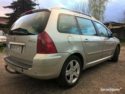 używany Peugeot 307 SW 7-osób 2004 2.0i 140KM CLIMA PANORAMA 4xEl.sz