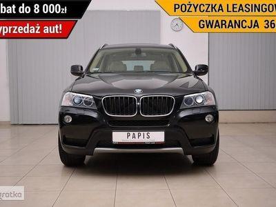 używany BMW X3 II (F25) SalonPL Bi-xenon LED Tempomat Climatronic Alufelgi PAPIS, Luboń