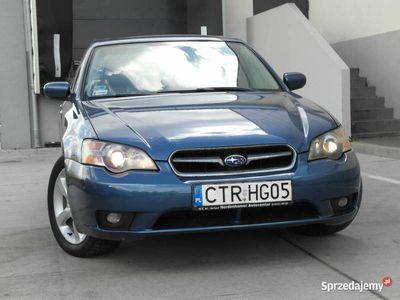 używany Subaru Legacy 2.5 boxer 4 AWD benzyna 165KM EJ25 4x4 skóra