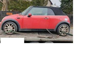 używany Mini Cooper Cabriolet R52 2006 r, 1.6 BENZYNA, CZĘŚCI