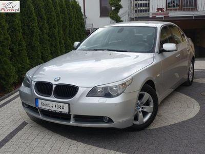 używany BMW 520 2.2dm3 170KM 2004r. 229 000km 6 Bieg - Skóry - 170KM - Auto z GWARANCJĄ
