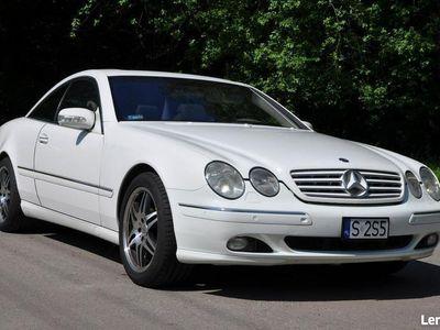 używany Mercedes CL500 CL 500full opcja bezwypadkowy
