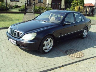 używany Mercedes 350 klasa S 4dm 250KM 2000r.000km