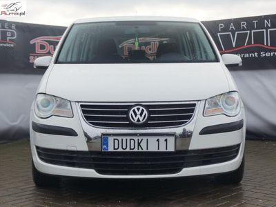 used VW Touran 1.9 1,9tdi DUDKI 11 ZAREJ,DSG,klimatr,temp,elektr,radio,parktr,hak,GWARANC ręczna klima.