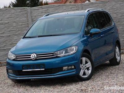 używany VW Touran III 2.0TDi 150KM DSG / 7 osób / Panorama / Webasto / IDEALNY / GWARANCJA, Szczecin