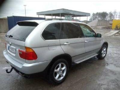 używany BMW X5 4.4 benzyna-gaz
