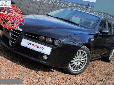 używany Alfa Romeo 159 1.9dm3 120KM 2006r. 253 000km 1.9 JTDM 8V Czarna Fajne Auto Dobra Cena, Raty Bez BIK