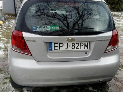 używany Chevrolet Aveo Aveo 1.2dm3 72KM 2005r. 152 000km sprzedam
