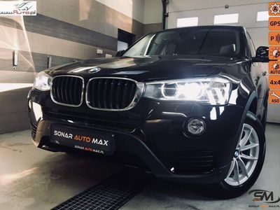 used BMW X3 2.0 xDrive-190km-Lifting-Sport Pakiet FV 23% automatyczna klima.