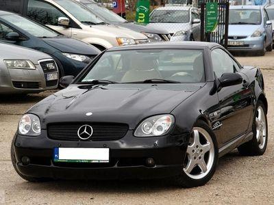używany Mercedes 230 Klasa SLK R170Kompresor 193KM Pakiet AMG