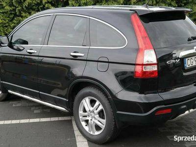 używany Honda CR-V automat LPG 4x4 czarny metalik