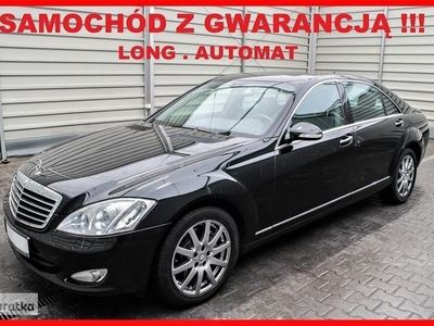 używany Mercedes 350 Klasa S W221LONG + AUTOMAT + Navigacja + Skóra + Klimatronik !!!