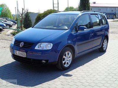 używany VW Touran I 1.9 TDI 101 KM Klimatyzacja