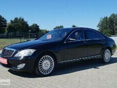 używany Mercedes 450 Klasa S W221SALON PL. LONG 4 MATIC 4,7 340 KM PEŁNA OPCJA