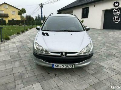 używany Peugeot 206 SW 1.4dm 88KM 2004r. 120 000km