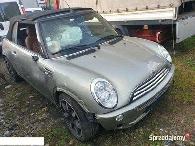 """używany Mini Cooper Cabriolet R52 """" SIDEWALK"""" 1.6 benz 2007 BOGATE WYPO"""
