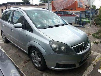 używany Opel Zafira rok produkcji 2007