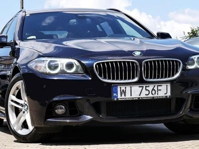 używany BMW 520 SERIA 5 dA Salon PL M-Pakiet Komforty Harman Virtual