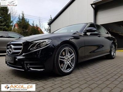 używany Mercedes E220 2dm3 195KM 2018r. 27 000km W213 Nowy Model AMG