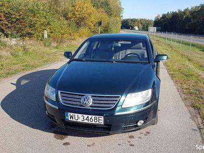 używany VW Phaeton 4.2 + LPG, 2003 286.000 Zielony z szarą skóra