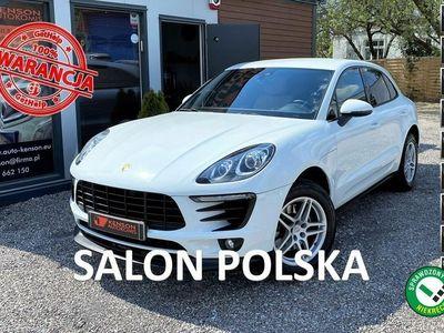 używany Porsche Macan Salon PL, Bezwypadkowy, 1-właś., Serwis ASO, F-vat marża