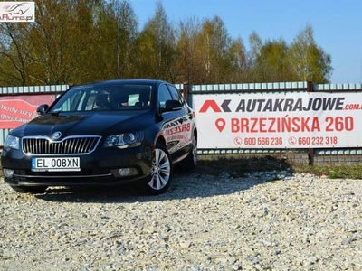 used Skoda Superb 2dm 170KM 2014r. 176 000km